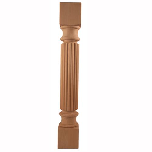 "Maple Hand Carved Onlay 20/"" x 3//4/"" x 4-1//4/"" in Alder Oak or Rubberwood"